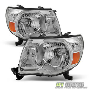 For 2005 2011 Toyota Tacoma Headlights Headlamps 05 11 Left Right Lights Lamps