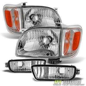 For 2001 2004 Toyota Tacoma Headlights corner Parking Signal Lights bumper Lamps