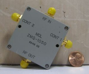 Mini circuits Mcl Model Zmq 1050 Modulator Sma Color grey