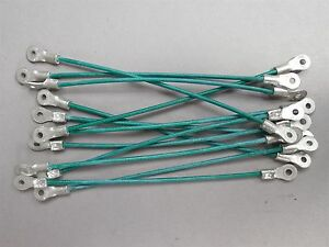 Lot Of 12 E1210 4 6 in Hood Pin Lanyards Cables New