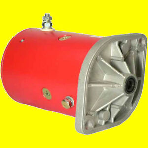 New Western Pump Snow Plow Motor 46 2473 46 2584 46 3618 56062 56133 W 8994