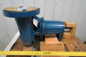 Peerless F2 1140 Horizontal End Suction Centrifugal 5x4 Pump 400gpm 62h ft