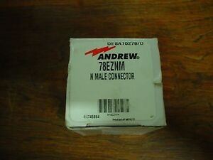 Qty 1 Andrew 78eznm N Male Connector Nib 60 Day Warranty