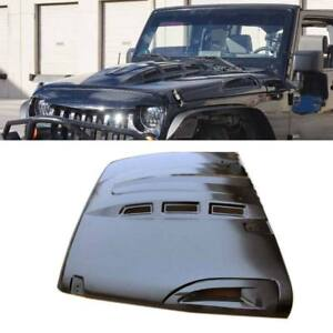 Custom Avg Avenger Style Hood W Vents For Jeep Wrangler Jk 2007 2017