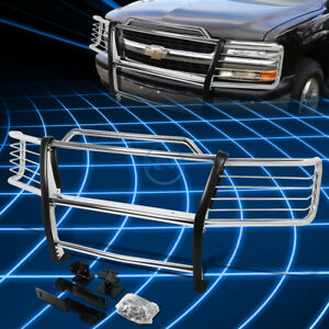 Chrome Brush Bumper Protector Grille Guard For 2000 2006 Chevy Tahoe suburban