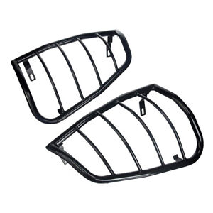 Custom Fit For 2005 2020 Nissan Frontier 2pc Black Tail Light Guards