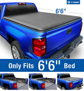 Fits 2014 2019 Silverado Sierra 6 5 Bed Tyger T1 Roll Up Tonneau Cover