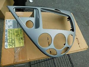 New 2000 2001 2002 2003 Ford Focus Dash Instrument Panel Bezel Ys4z 5404644 Daa