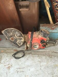 Power Cutter 720 Gas Powered Commercial Concrete Cut off Saw Made In Italy