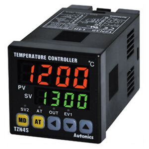 Autonics Tzn4s 14c Pid Temperature Controller 1 16 Din Digital Current Output