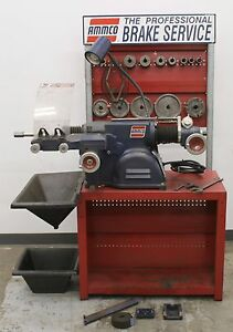 Ammco 4000b Disc Drum Brake Lathe Loaded W Double Chuck 3 jaw Kit