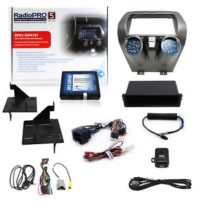 Rpk5 Gm4101 Aftermarket Radio Replacement Complete Dash Kit For 2010 2015 Camaro