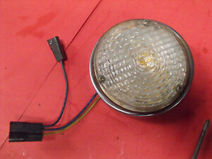 67 68 69 70 71 Jeepster Commando Dauntless Front Turn Park Light Assembly