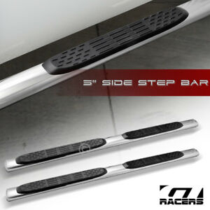 For 2009 2014 Dodge Ram 1500 Crew Cab 5 Oval Chrome Side Step Nerf Bars Boards