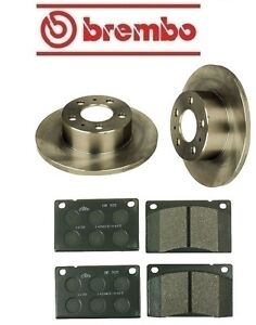 For Volvo 264 1976 1982 Front Complete Disc Brake Rotors Kit Pads Ate Brembo