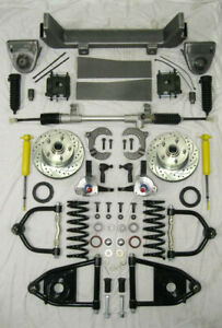 1953 1956 Ford F100 Mustang Ii Manual Front End Suspension Kit Ifs Stock Height