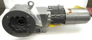 Nord Gear Box Motor 201578033 100 10 Rpm S1 Pos M4