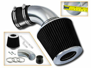 Ram Air Intake Kit Black Dry Filter For 97 00 Bmw 528i 2 8l 01 03 2 5l 3 0l