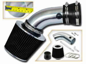 Racing Air Intake Kit Black Filter For 93 01 Bmw E34 E39 740i 540i 4 0l 4 4l V8