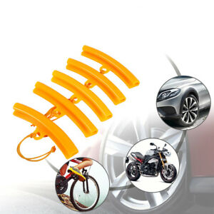 5x Motorcycle Tire Changer Guard Rim Protector Tyre Wheel Changing Edge Tool Diy