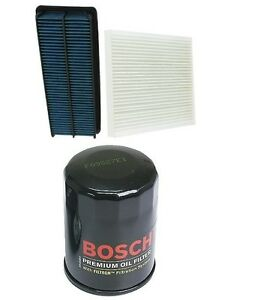 For Acura Tl 04 06 3 2l Basic Tune Up Kit Cabin Filter Air Engine Oil Bosch