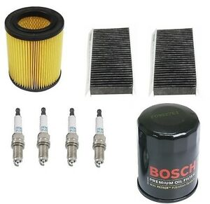 For Honda Civic 03 05 Si Kit Cabin Air Bosch Oil Opparts Air Filters Denso Plugs