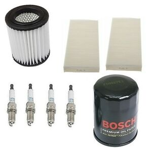 For Honda Civic 03 05 Kit Cabin Air Micro Air Bosch Oil Filters Denso Plugs