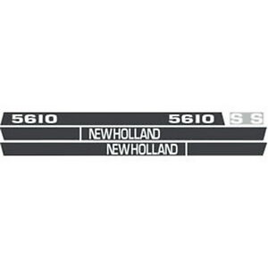 New 5610 Holland Tractor Hood Decal Kit 5610s High Quality Vinyl Hood Decals