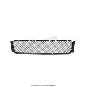 For Bmw E36 M3 Front Black Plastic Bumper Cover Grille Center Bbr 51112250685