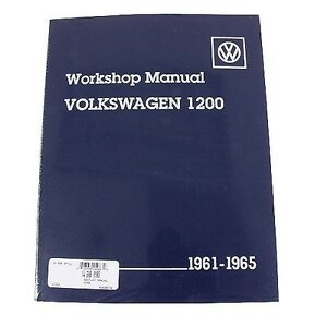 For Vw Beetle Karmann Ghia 1961 1965 Repair Manual Bentley For Vw 800 0165