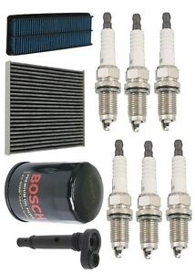 For Acura Tl 04 06 3 2l Premium Tune Up Kit Eng Oil Cabin Filter Valve Plugs