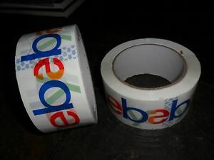12 Roll Lot Ebay Brand Packing Tape Packaging Shipping 75 Yards 2 Mil Thick