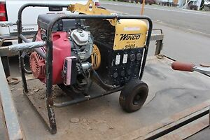 Winco Wc9500 Generator Honda 18 0 Engine