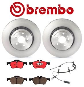 For Mini Cooper R53 R54 Brembo Front Brake Kit Disc Rotors Ceramic Pads Sensor