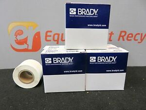 Brady Bradymaker I D Pro Laminating Wml 511 292 Label Labels 1 New Lot Of 5