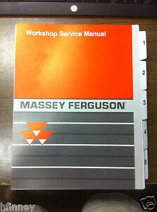 Massey Ferguson Mf30e 30e Tractor Loader Workshop Service Manual 1472232m1 New