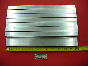 8 Pieces 3 4 x 1 1 2 x 1 8 Wall Aluminum Rectangle Tube 6063 T52 X 12 Long