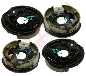 4pc Electric Trailer Brake 10 X 225 Assembly Fits Dexter Right Amp Left 3500 Lb
