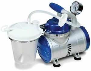 Dental Portable Suction Vacuum Pump high Vacuum Suction all In 1 self Contained