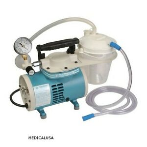 New Schuco Gomco S430a Aspirator suction Pump Complete With All Hoses