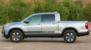 Breakup Vinyl Graphic Side Door Body Line Accent Stripe Decal Honda Ridgeline