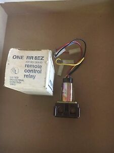 New General Electric Rr8ez Remote Control Relay 91469 Lot Of 2