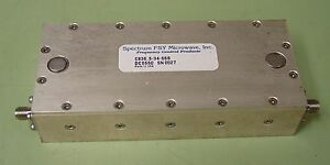 Spectrum Fsy Microwave 836 5 Mhz Rf Bandpass Filter