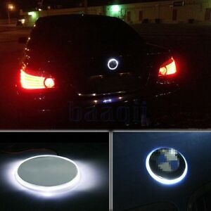 82mm Car Badge Logo Emblem Led Background Light For Bmw 1 3 5 7 Series X3 5 6 Fa