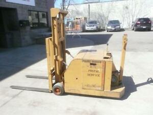 Prime Mover Electric Walk Behind Fork Lift Pallet Jack Sc 20 24 Volt 2000 Lb