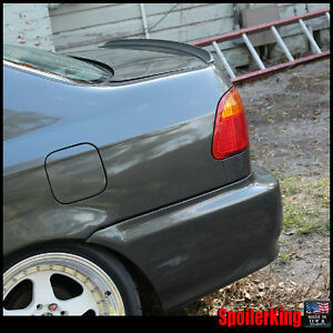 Spoilerking 244l Rear Trunk Lip Spoiler Wing Fits Honda Civic 1996 00 4dr