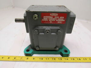 Dayton 6z445 Gearbox Speed Reducer 50 1 Ratio 576in lbs Torque