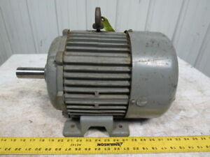 Pacemaker 7 5hp Electric Induction Motor 230 460v 3ph 3495rpm 213t Frame