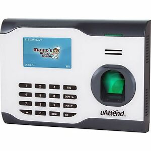 Biometric Fingerprint Attendance Time Clock Uattend Bn5000