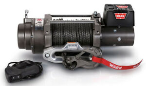 Warn 97720 M12 s 12000 Lb Winch 100 3 8 Spydra Synthetic Rope Heavy Series